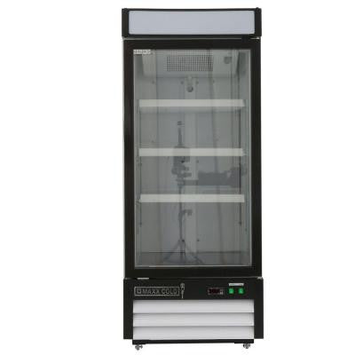 X-Series 12 cu. ft. Single Door Merchandiser Refrigerator in White