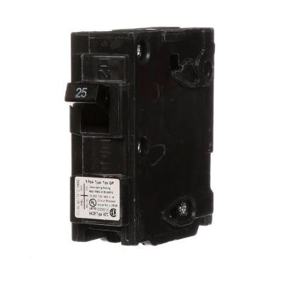 25 Amp Single-Pole Type QP Circuit Breaker