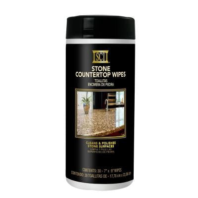 Stone Counter Top Wipes (30-Count)