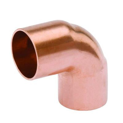 1/2 in. Copper 90 Degree C x C Elbow (10-Pack)