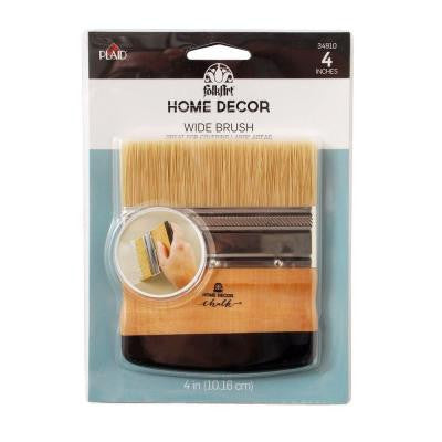 Home Decor 4 in. Chalk Finish Wide Brush
