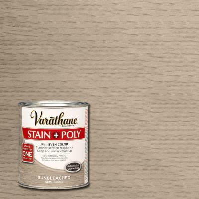 1-qt. Sun Bleached Interior Stain and Polyurethane (2-Pack)