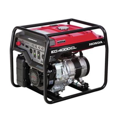 4000-Watt Gasoline Generator with GFCI Duplex Outlet Protection and GX270 OHV Commercial Engine