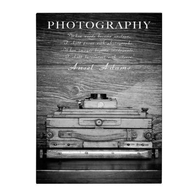 24 in. x 16 in. Photography B&W Canvas Art