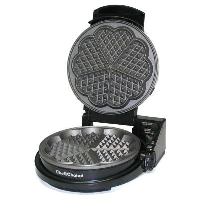 WafflePro Five of Hearts Electric Waffle Maker