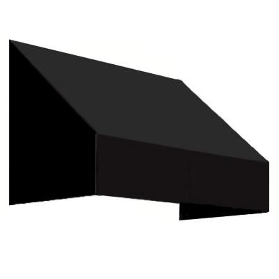 5 ft. New Yorker Window/Entry Awning (56 in. H x 36 in. D) in Black