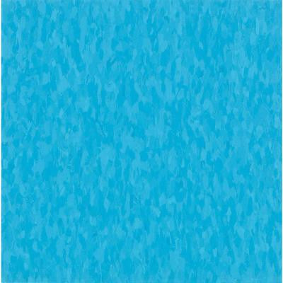 Imperial Texture VCT 12 in. x 12 in. Bikini Blue Commercial Vinyl Tile (45 sq. ft. / case)