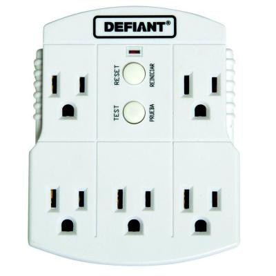 GFCI 5-Outlet Adapter