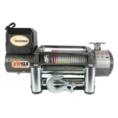 13,500 lbs. Utility Winch 12VDC with Wireless Remote