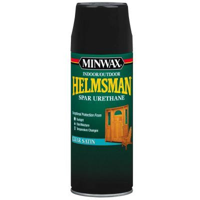 11.5 oz. Satin Helmsman Indoor/Outdoor Spar Urethane Aerosol Spray (6-Pack)