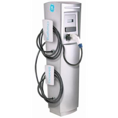 EV charger Level 2 DuraStation Double Pedestal with Connect Software