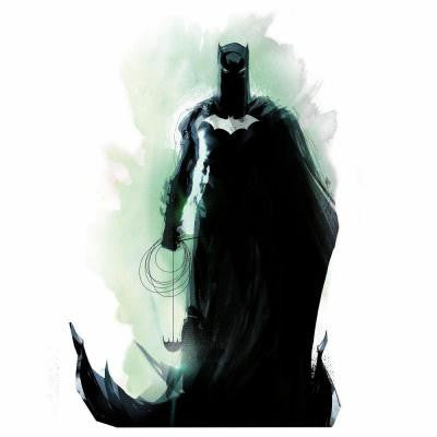 2.5 in. W x 27 in. H Batman Figure Peel and Stick Giant Wall Graphic