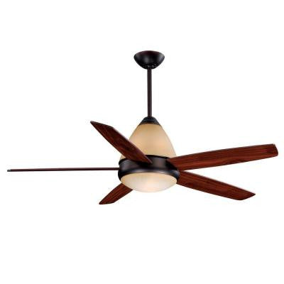Fresco II 52 in. Oil Burnished Bronze Ceiling Fan
