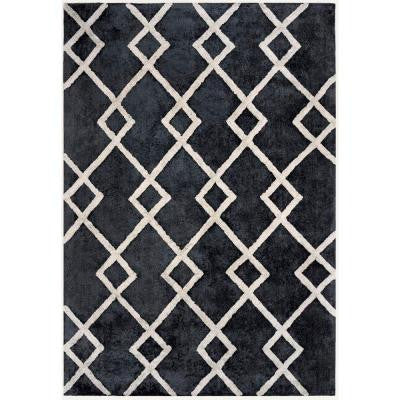 Shine Gray 5 ft. x 7 ft. Area Rug