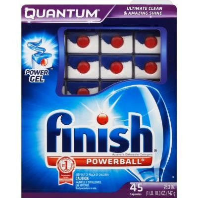 0.58 oz. Quantum Dishwasher Tablets (45-Count)