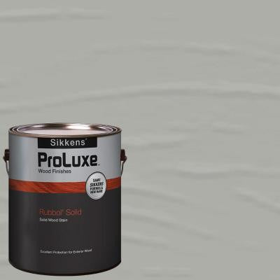 1-gal. #HDGSIK710-520 Fog Grey Rubbol Solid Wood Stain
