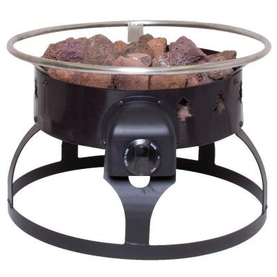Redwood Portable Propane Gas Fire Pit
