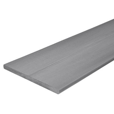 Horizon 3/4 in. x 11-1/4 in. x 12 ft. Castle Gray Capped Fascia Composite Decking Board (10-Pack)