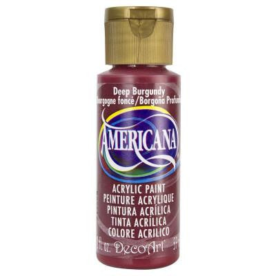 Americana 2 oz. Deep Burgundy Acrylic Paint