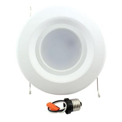 5 in. and 6 in. White Recessed LED Trim 90CRI, 3000K
