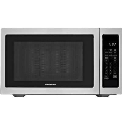 Architect Series II 1.6 cu. ft. Countertop Microwave in Stainless Steel Built-In Capable with Sensor Cooking