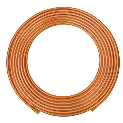 3/8 in. O.D. x 20 ft. Copper Soft Refrigeration Coil Pipe