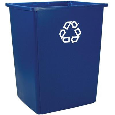 56 Gal. Blue Recycling Container