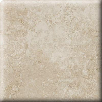 Sandalo Serene White 3 in. x 3 in. Ceramic Bullnose Wall Tile