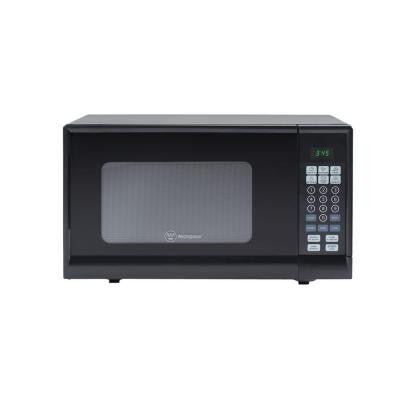 0.9 cu. ft. 900-Watt Countertop Microwave in Black