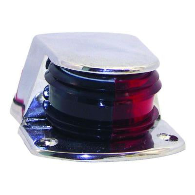 Bi-Color Chrome Zamac Bow Navigation Light, Classic