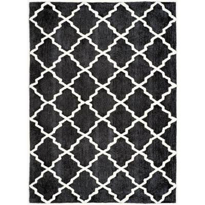 Ergo Gray 8 ft. x 10 ft. Area Rug