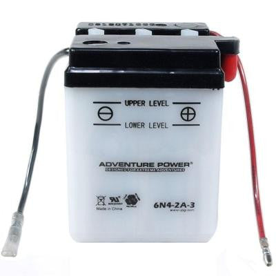 Conventional Wet Pack 6-Volt 4 Ah Capacity P Terminal Battery