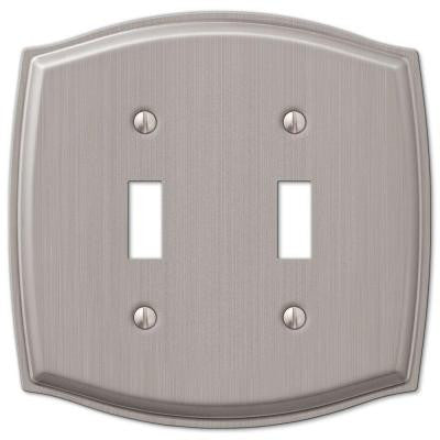 Sonoma 2 Toggle Wall Plate - Nickel