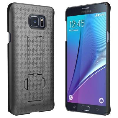 Transformer Series Slim Holster Case for Galaxy Note 5 - Black
