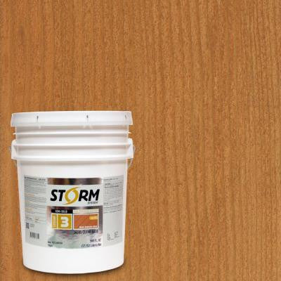 Category 3 5 gal. Cedar Mill Exterior Semi-Solid Dual Dispersion Wood Finish