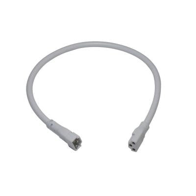 12 in. White Linking Cable for LED Under Cabinet Light
