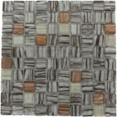 Gemini Jupiter Blend 12 in. x 12 in. x 4 mm Glass Mosaic Floor and Wall Tile