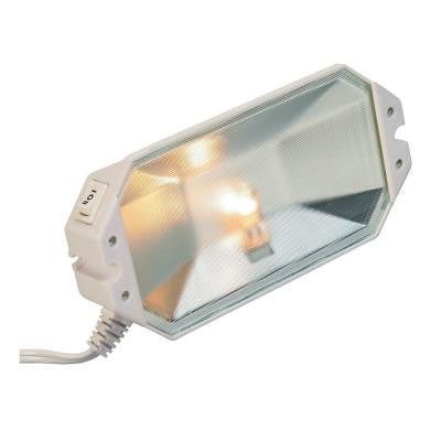 7.9 in. Halogen Whtie 50-Watt Plug in Task Light