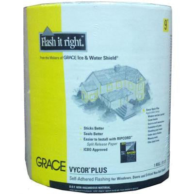 Vycor Plus 9 in. x 75 ft. Roll Fully-Adhered Flashing