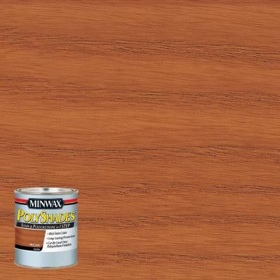8 oz. PolyShades Pecan Gloss Stain and Polyurethane in 1-Step (4-Pack)