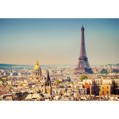 100 in. x 144 in. Paris Wall Mural