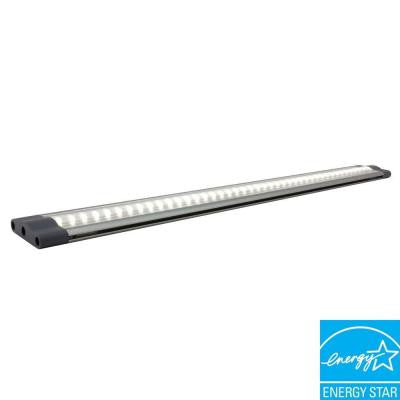 SNAP PRO Series 19.5 in. 5-Watt LED Under Cabinet Linkable Light with 18-Watt Hard Wire Power Supply