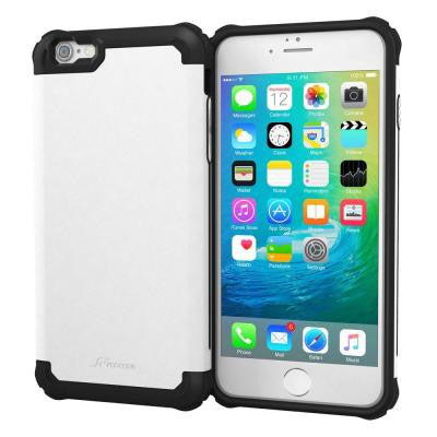 Exec Tough Pro Hybrid Armor Case for Apple iPhone 6/6S Plus - Gray