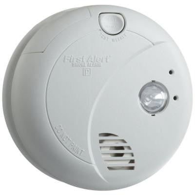 Hardwired Smoke Alarm with Escape Light
