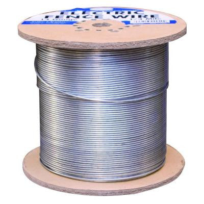 1/4 Mile 14-Gauge Galvanized Electric Fence Wire