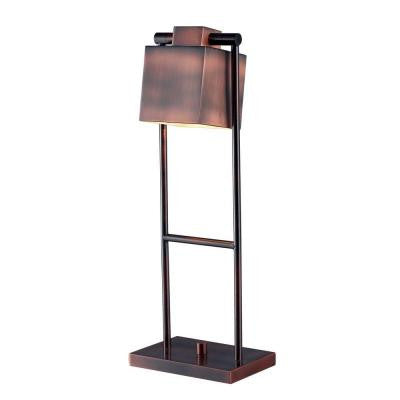 Crimmins 20 in. Copper Desk Lamp