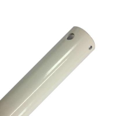 24 in. White Extension Downrod