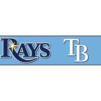 Boys Will Be Boys II 6 in. Tampa Bay Rays Border