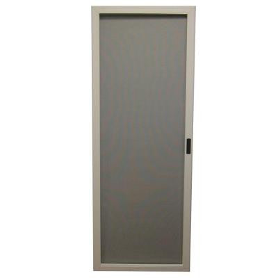 MasterPiece 36 in. White Reversible Sliding Screen Door Screen