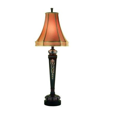 Prestige Collection 36-1/2 in. Tortoise Table Lamp
